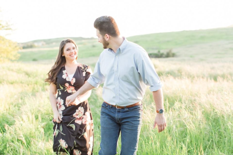 Fun engagement session posing ideas
