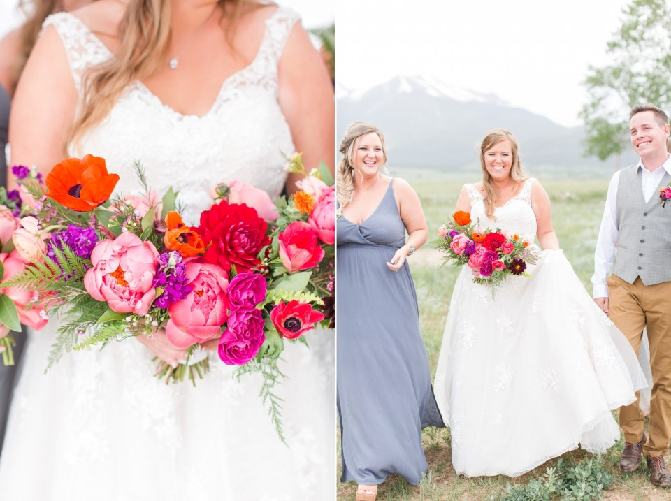 Lace and Lillies wedding flowers in Fort Collins Colorado.