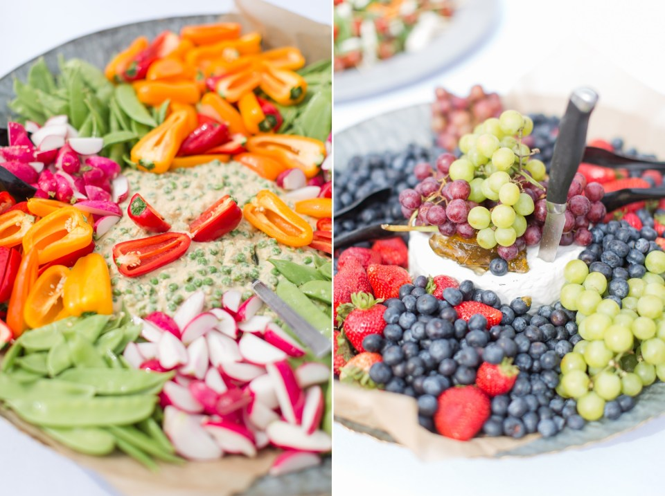 Wedding appetizer ideas for cocktail hour.