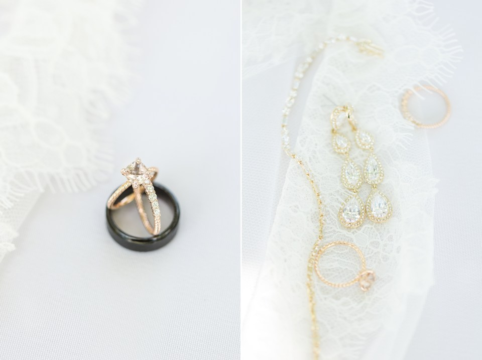 Gold bridal details. Bridal detail inspiration.