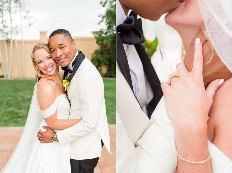 Colorado wedding photographer. Spring wedding at the Villa Parker wedding venue in Parker Colorado.