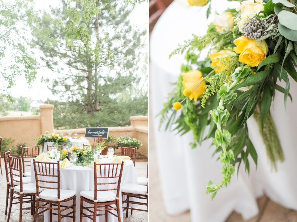 Cream and yellow wedding inspirations.