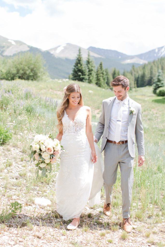 Colorado wedding photographer Theresa Bridget Photography. Copper Mountain wedding resort.