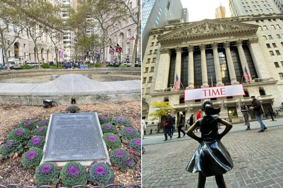 Alexander Hamilton walking tour in New York City.