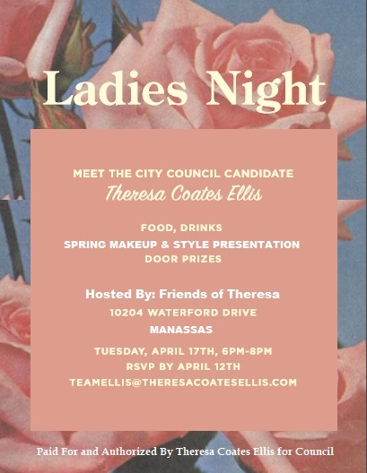 Theresa Coates Ellis for Council Ladies V6