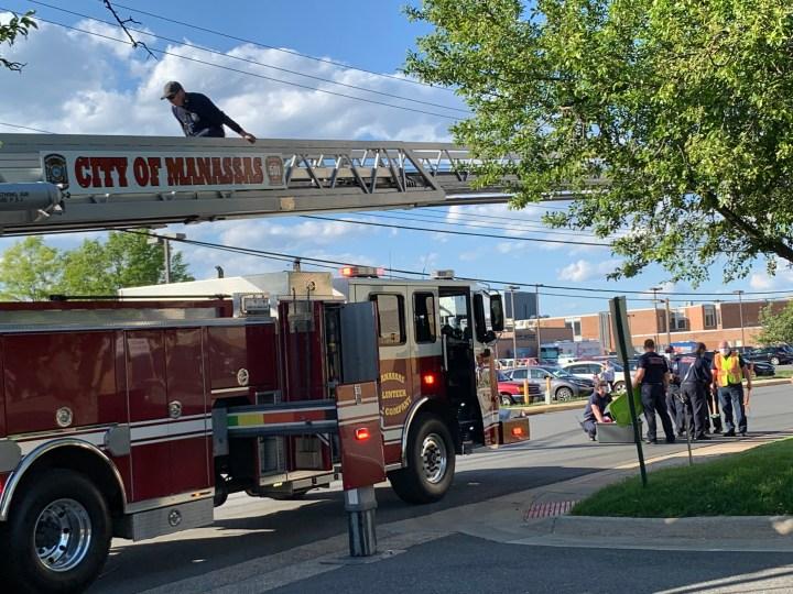fire ladder hospital