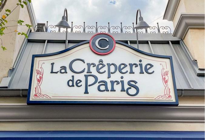 la Crêperie de Paris restaurant