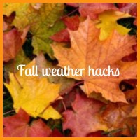 10 Helpful Fall Hacks to prepare for Cooler Weather- life hacks, home hacks, property hacks