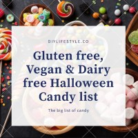 A complete list of ALL gluten free, vegan & dairy free Halloween candy - 2020