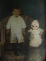 my father and his sister Julia