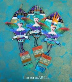 Flights o Fantasy Jewel Tone Regal Whimsy Balloons