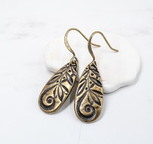 Theresa-Rose-Designs-Antique-Gold-Jardin-Teardrop-Earrings-SM4