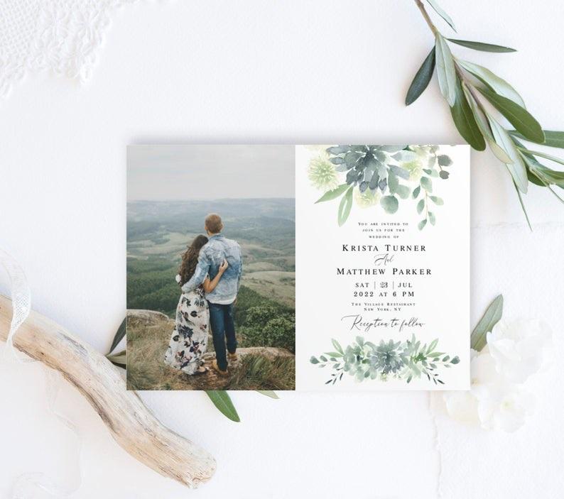 ViolaMirabilisDesign-Sage-Wedding-Invitation