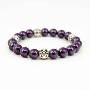 purple-silver-beaded-bracelet