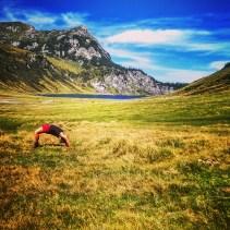 Bissi Yoga geht immer.