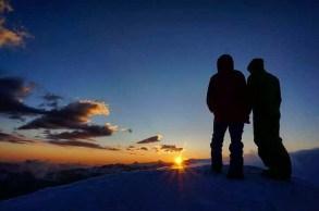Sonnenaufgang am Seekarspitz