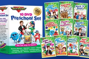Preschool DVD set