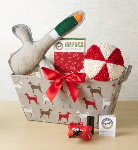 Gifts for Small Dogs - Featuring 1-800 Baskets - at Theresa's Reviews - www.theresasreviews.com #gifts #Christmas #giftguide #holidays