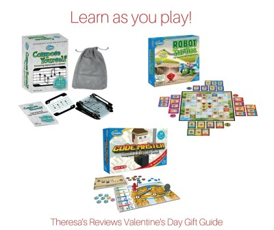 Theresa's Reviews Valentine's Day Gift Guide - Featuring @Thinkfun - www.theresasreviews.com