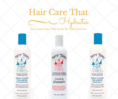 Hair care that hydrates to create fairy tale locks for your princess - @fairytaleshair - on Theresa's Reviews