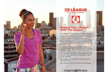 Sports Authority Launches the MapMyFitness campaign - www.theresasreviews.com