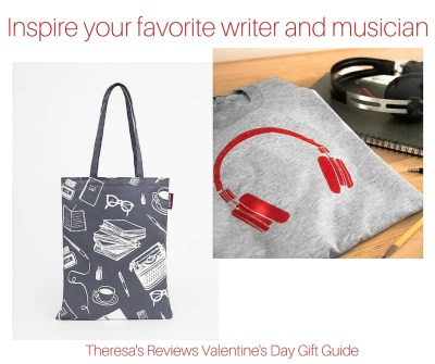 Inspire your favorite writer and musician - Theresa's Reviews Valentine's Day Gift Guide - Featuring @Greymade - www.theresasreviews.com