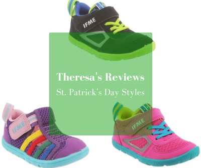 4 Simple Ways to Celebrate St. Patrick's Day - Featuring IFME US Shoes - On Theresa's Reviews