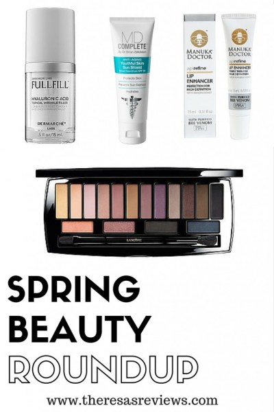 2016 Spring Beauty Roundup - Don't miss these beauty must haves! - Theresa's Reviews - Featuring @dermarchelabs, @mdcompleteskin, Manuka Doctor, and @lancomeusa