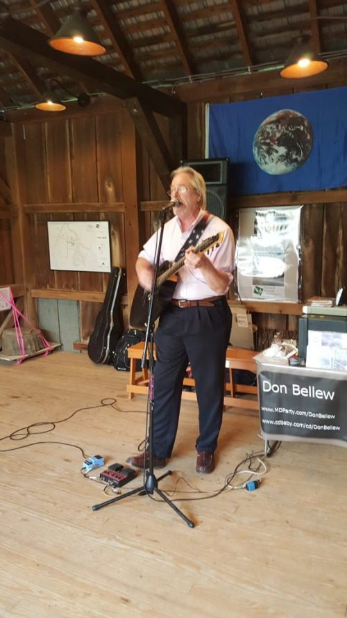 Howard County Conservancy Fundraiser Event May 26th, 2016 - Wine in the Garden and Beer in the Barn - Don Bellew - Music