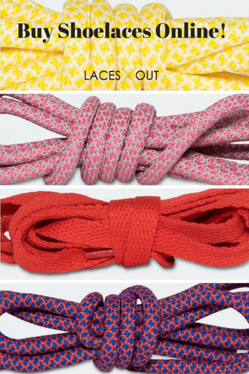 Laces Out: Premium Shoelaces From The Comfort Of Your Home - Online Shoelace Shop Review - Theresa's Reviews - Found on www.theresasreviews.com @shoeslacesout #ad #sponsored