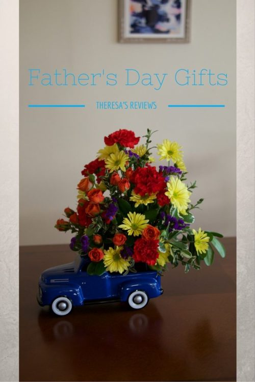 Father's Day Gifts and Giveaway - @teleflora @TheresaPickett1