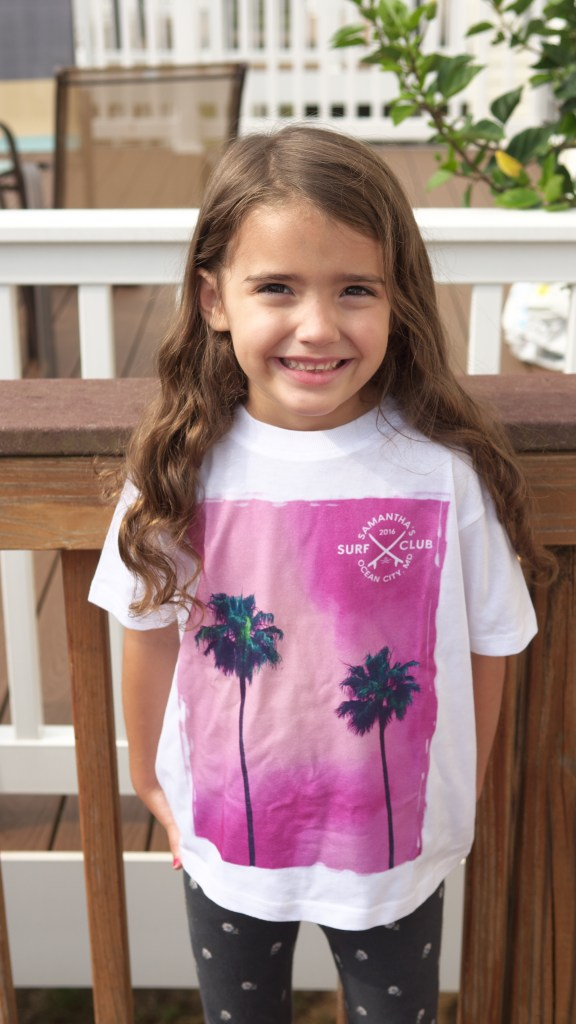 Remembering Your Beach Vacation - Ocean City, Maryland - Tee-shirts from The Custom Kids - Found on www.theresareviews.com