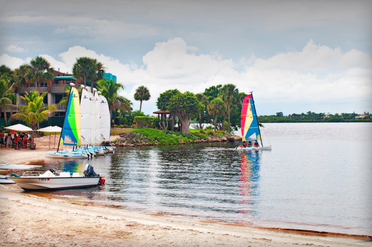 7 Labor Day Vacation Spots You'll Love - Photo credit: Club Med in Sandpiper Bay, Florida - Found on www.theresasreviews.com