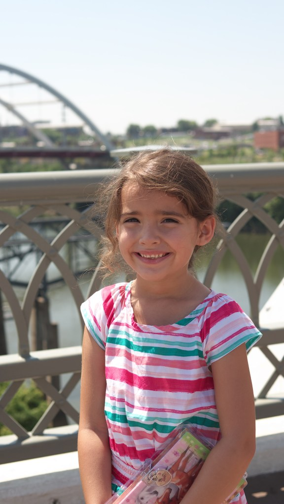 4 Kid-Friendly Places in Downtown Nashville - The John Seigenthaler Pedestrian Bridge  - Theresa's Reviews