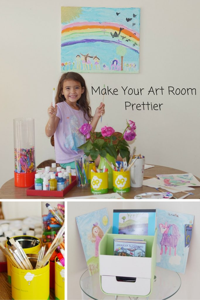 Kids' Art Room Guide - 3 Inspiring Ideas for Making Your Art Space Prettier - Found on www.theresasreviews.com