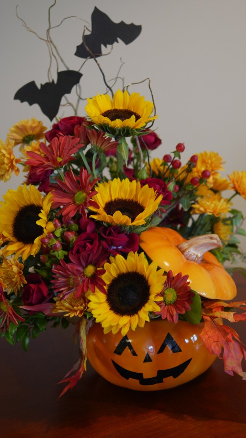 Celebrating Your Inner Halloween Spirit - Teleflora Bouquets - Found on www.theresasreviews.com