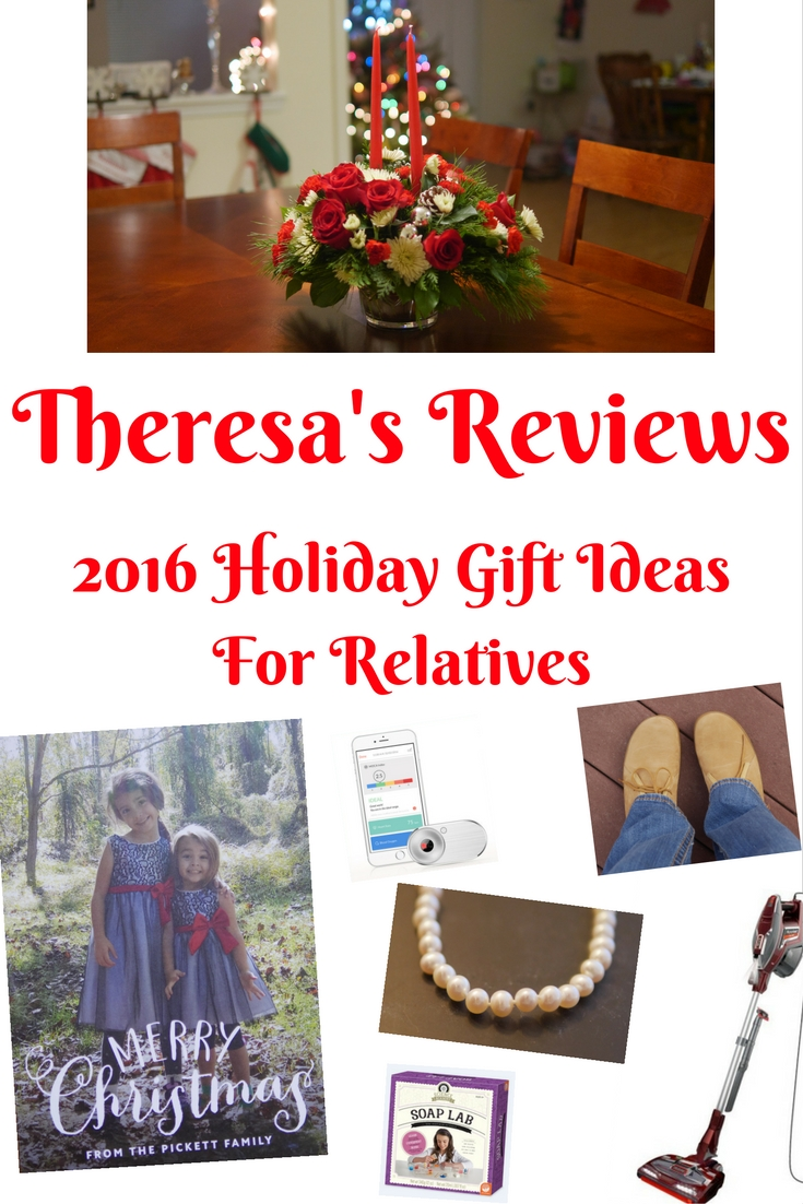 Theresa's Reviews - 2016 Holiday Gift Guide For Relatives