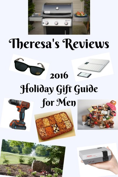 2016 Theresa's Reviews Holiday Gift Guide for Men