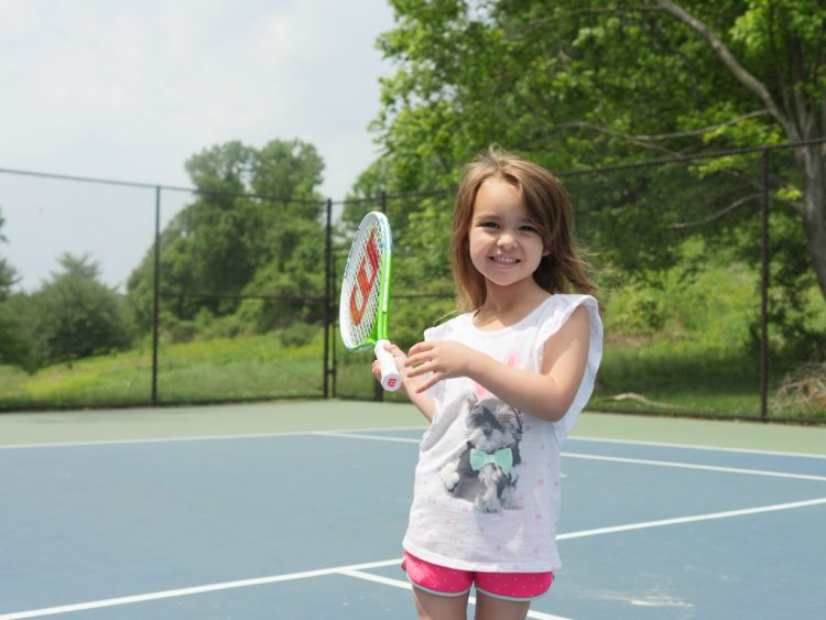 With three tennis courts, a volleyball court, and more, families can find plenty to do.