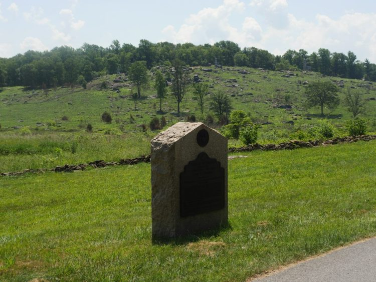 Little Round Top was incredible to see from the horse-drawn carriage.