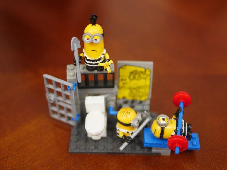 Minions Jail Break By Mega Construx