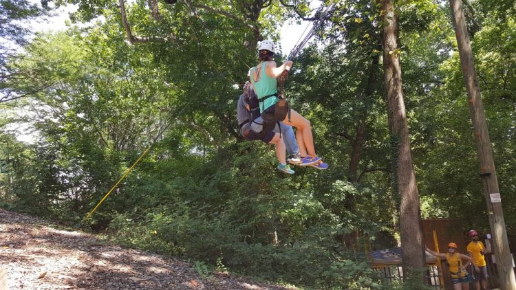 The Giant Swing at Terrapin Adventures