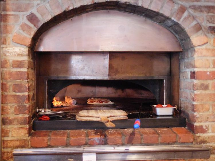 Try the brick oven pizza at Stella Notte!