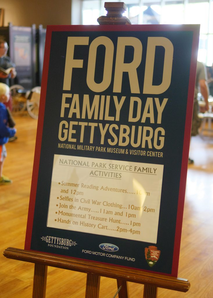 Ford Family Day in Gettysburg means free activities the whole family can enjoy!