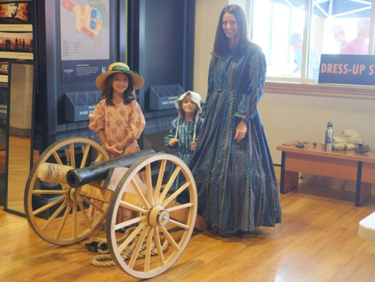 Theresa's Reviews visits Ford Family Day at the Gettysburg National Military Park Museum & Visitor's Center