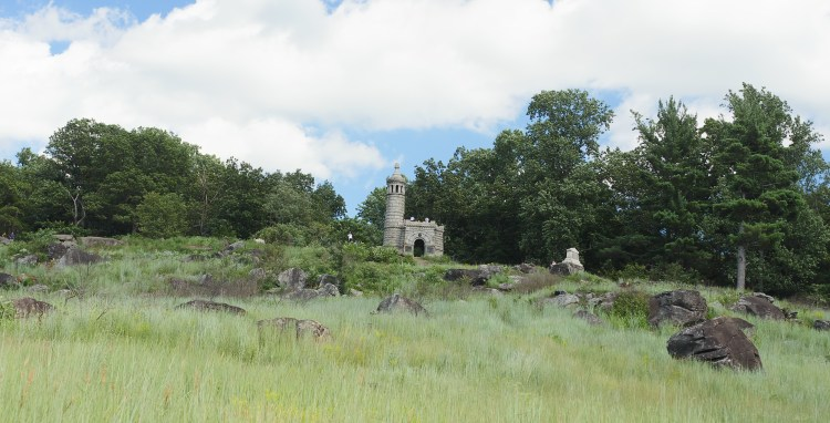 View of Little Round Top in Gettysburg - Theresa's Reviews