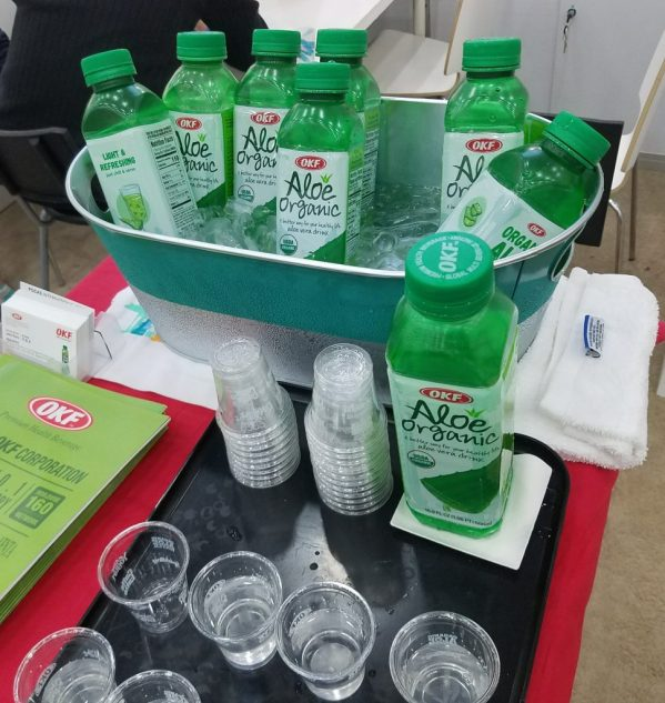 OKF Aloe Organic at Natural Products Expo East 2017 - Theresa's Reviews #ExpoEast #ExpoEast2017