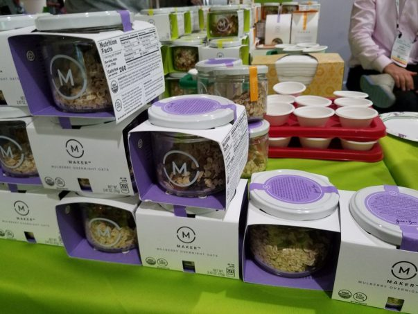 Maker Overnight Oats at Natural Products Expo East 2017 - Theresa's Reviews #ExpoEast #ExpoEast2017