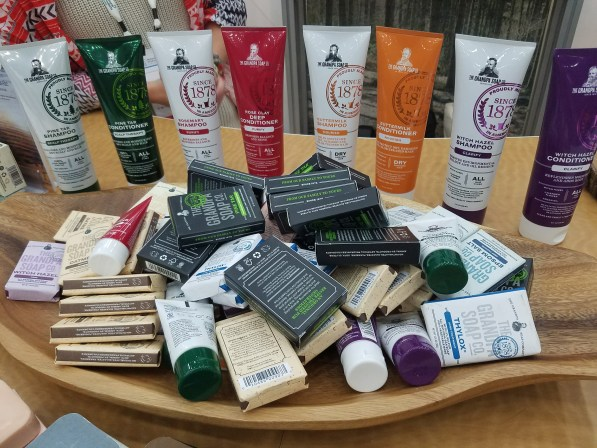 Grandpa Soap Company at Natural Products Expo East 2017 - Theresa's Reviews #ExpoEast #ExpoEast2017