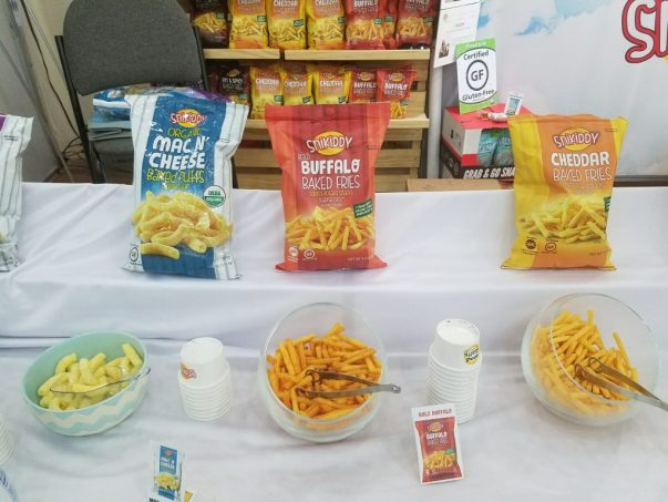 Snikiddy baked fries and puffs at Natural Products Expo East 2017 - Theresa's Reviews #ExpoEast #ExpoEast2017